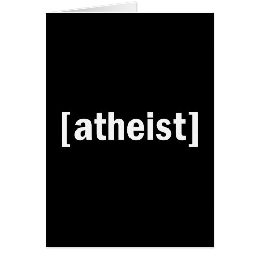 [atheist] greeting card