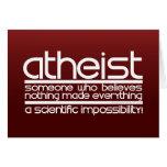 Atheist Greeting Card