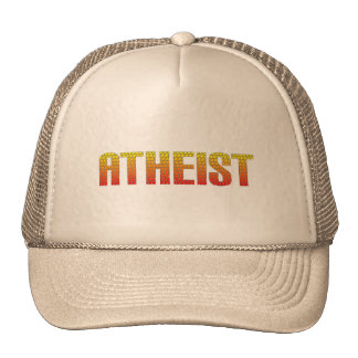 Atheist, hell wire fence style. cap