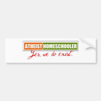 Atheist Homeschooler Bumper Sticker
