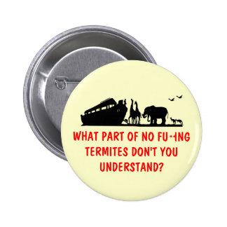 Atheist humor 2 inch round button