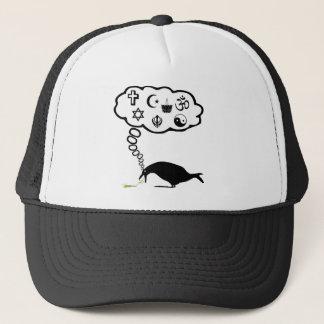 Atheist humor trucker hat