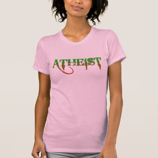 Atheist ID goth style green/red Tank Top