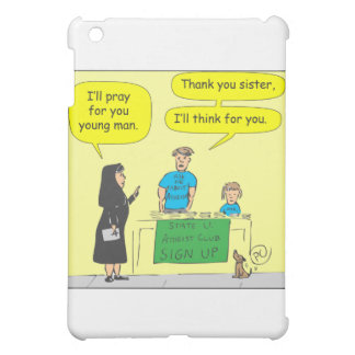 Atheist I'll think for you-color cartoon iPad Mini Cover
