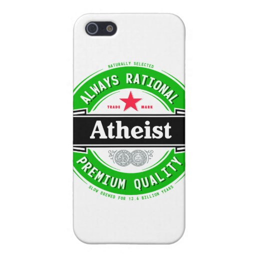 Atheist (imported beer label) cover for iPhone 5