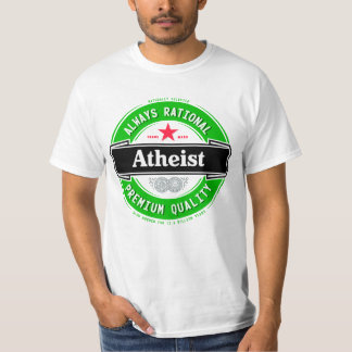 Atheist (imported beer label) t-shirt