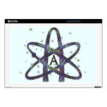 Atheist in Outer Space Laptop Skin