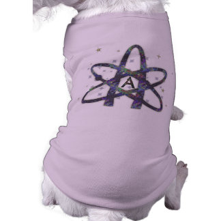 Atheist in Outer Space Pet Clothing