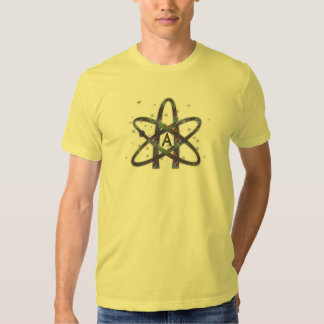 Atheist in Outer Space Tee Shirt