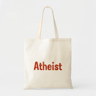Atheist in Red Tote Bags