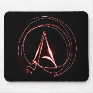 Atheist in Red Mousepad