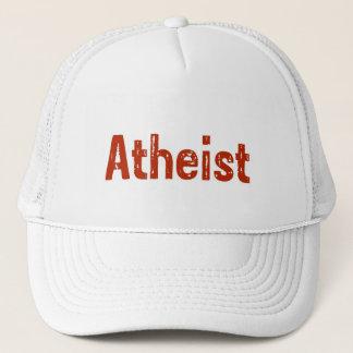 Atheist in Red Trucker Hat