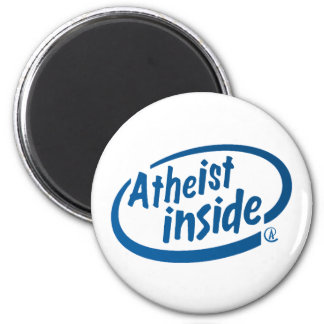 Atheist Inside Magnet