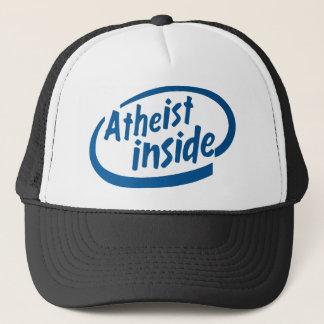 Atheist Inside Trucker Hat