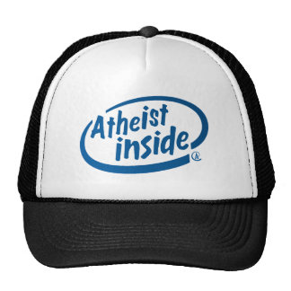 Atheist Inside Trucker Hat