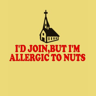 Atheist joke shirt