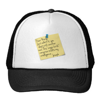 Atheist Joseph and Mary Hat