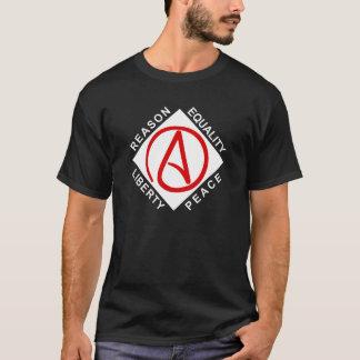 Atheist large logo men's t-shirt