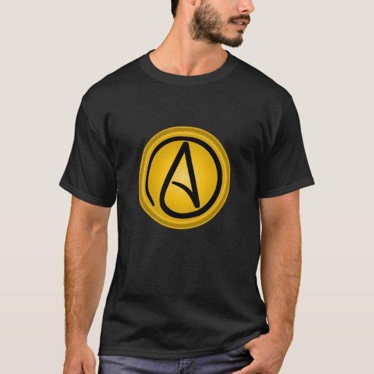 Atheist logo men's t-shirt