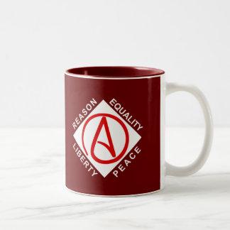Atheist logo mug