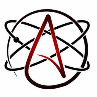 Atheist Logo Sculpture Standing Photo Sculpture