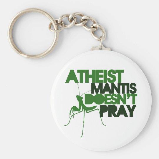 Atheist Mantis Keychain