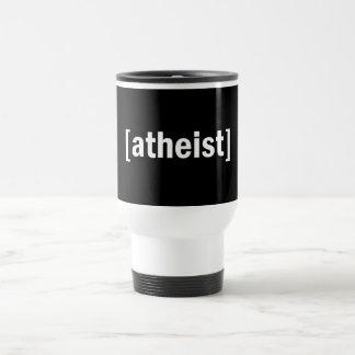 [atheist] 15 oz stainless steel travel mug
