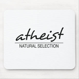 Atheist - Natural Selection Mouse Pad