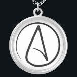 "Atheist necklace<br><div class=""desc"">atheist necklace</div>"