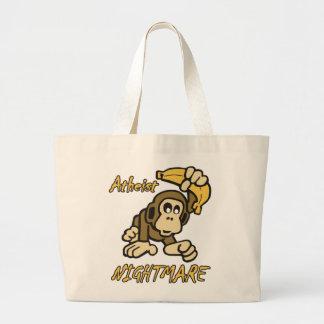 Atheist Nightmare Tote Bags