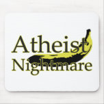 Atheist Nightmare Banana Mouse Pad