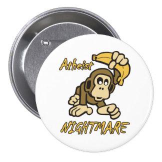 Atheist Nightmare Pinback Buttons