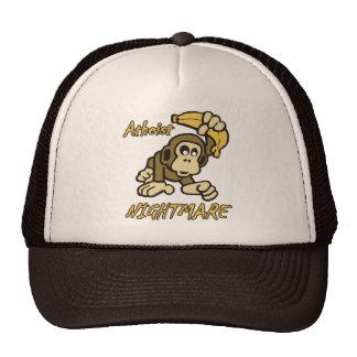 Atheist Nightmare Mesh Hats