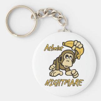Atheist Nightmare Key Chains