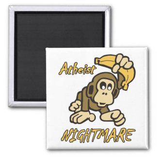 Atheist Nightmare Fridge Magnet