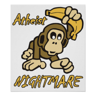 Atheist Nightmare Posters
