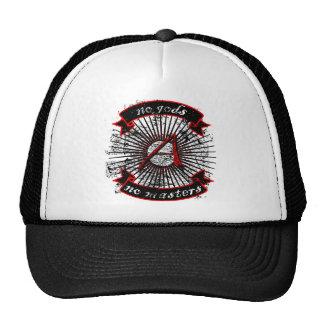 Atheist No Gods, No Masters Trucker Hat