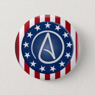 Atheist Patriot button