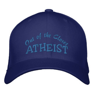 ATHEIST Personalize Name Embroidered Baseball Cap