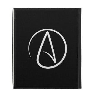 Atheist Pictogram iPad Caseable Folio iPad Case