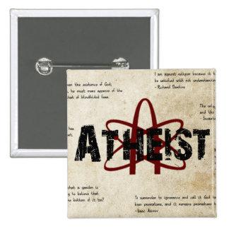 Atheist Pinback Button