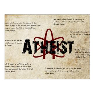 Atheist Postcards