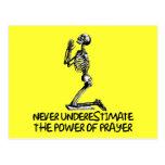 Atheist prayer postcard