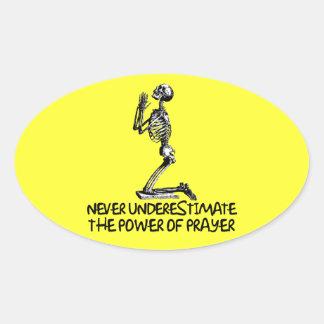 Atheist prayer stickers
