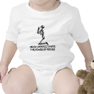 Atheist prayer baby bodysuit