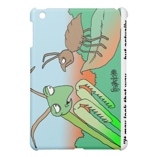 Atheist Praying Mantis  Case For The iPad Mini