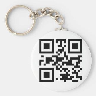 """""""ATHEIST"""" QR code Keychain"""