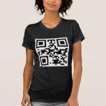 """ATHEIST"" QR code T-shirts"
