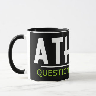 Atheist - Question Everything Mug