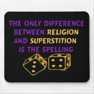 Atheist Quote Mouse Pad